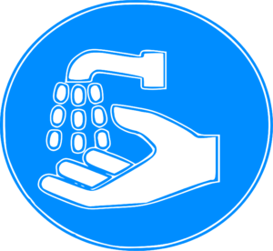 Sign emphasizing the importance of frequent handwashing for the prevention of Coronavirus